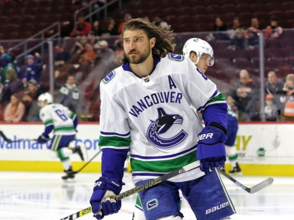 Chris Tanev Vancouver Canucks