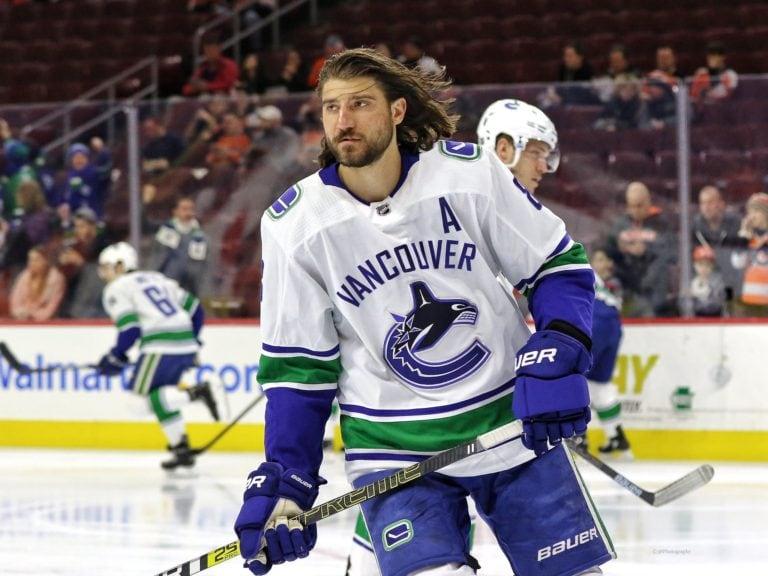 Chris Tanev Vancouver Canucks