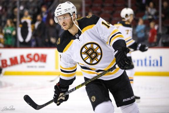 Chris Wagner Boston Bruins
