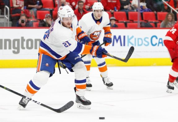 Islanders right wing Chris Wagner