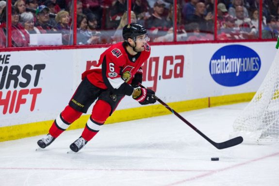 Senators Defenceman Chris Wideman