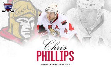 Ottawa Senators Legend - Chris Phillips