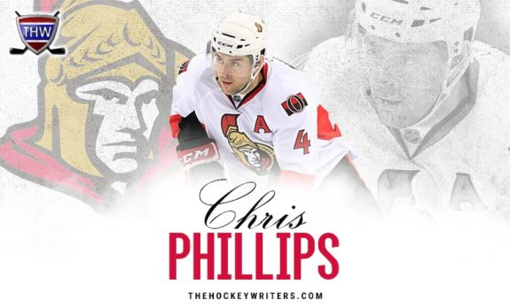Ottawa Senators Chris Phillips