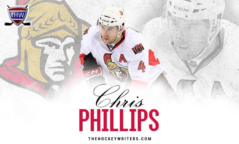 Ottawa Senators Chris Phillips
