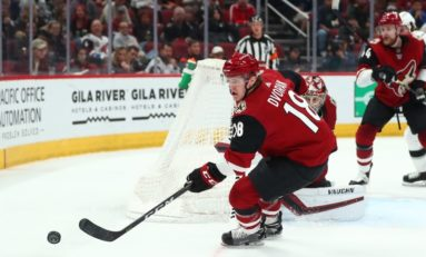 Dvorak Scores 2, Adds Shootout Winner as Coyotes Top Ducks