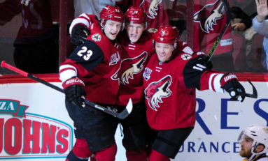 Another Slow Start Ruins Coyotes