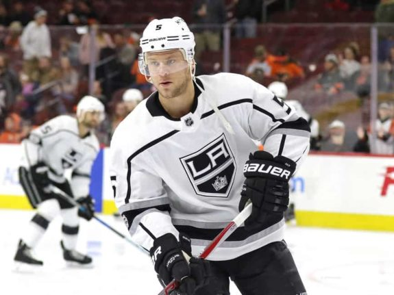 Ex-Los Angeles Kings defenseman Christian Folin