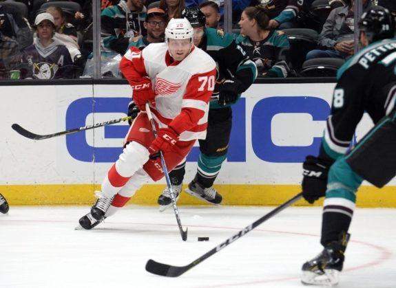 Red Wings center Christoffer Ehn