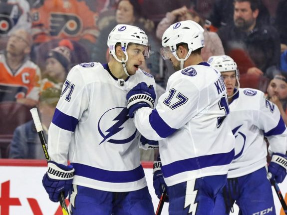 Anthony Cirelli Alex Killorn Tampa Bay Lightning