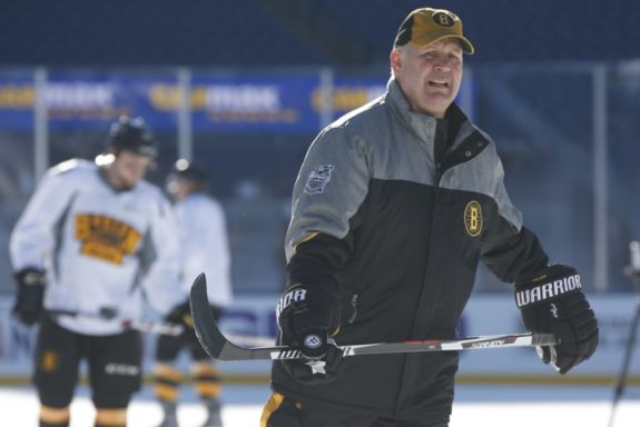 (Greg M. Cooper-USA TODAY Sports) Claude Julien will continue calling the shots for the Boston Bruins next season.