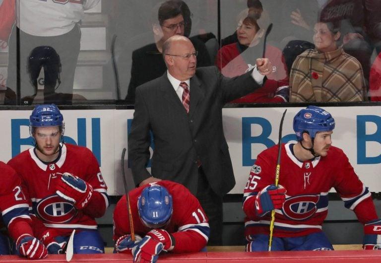 Canadiens head coach Claude Julien