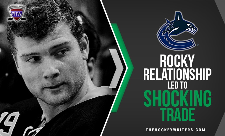 Vancouver Canucks' Rocky Relationship With Cody Hodgson Led to Shocking Trade