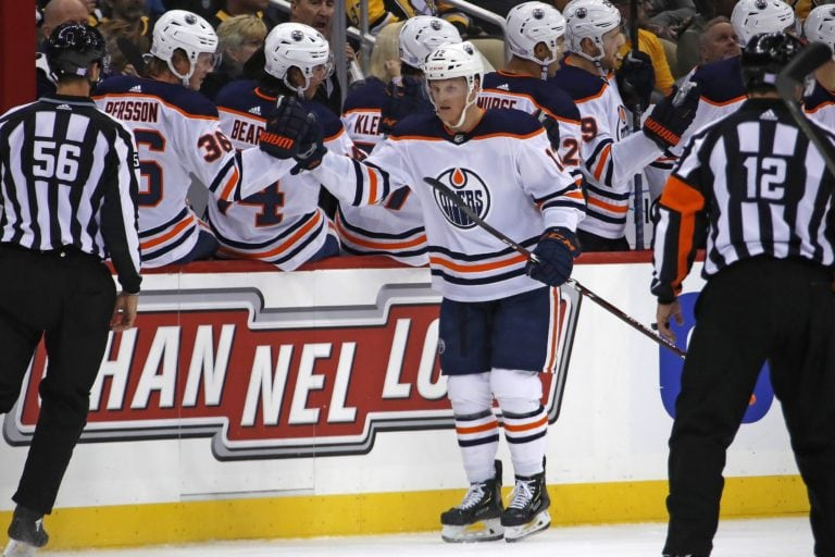 Colby Cave Edmonton Oilers