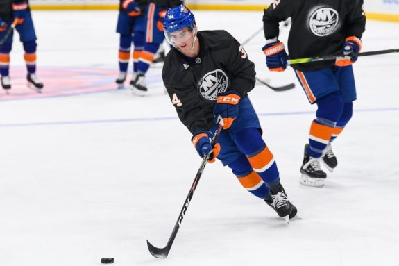 Cole Bardreau New York Islanders