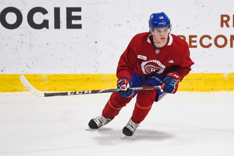 Cole Caufield Montreal Canadiens