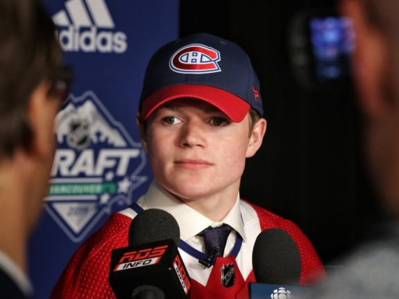 Cole Caufield Canadiens Draft