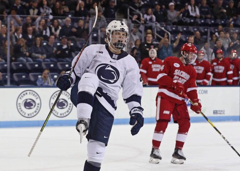 Cole Hults, Penn State, Sacred Heart