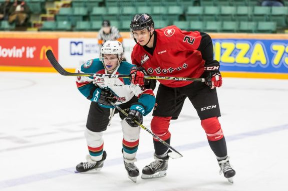 Cole Moberg Prince George Cougars