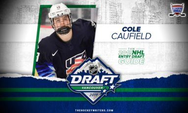 Canadiens Pick Cole Caufield #15 Overall