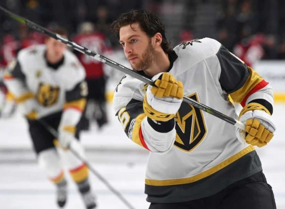 Vegas Golden Knights defenseman Colin Miller