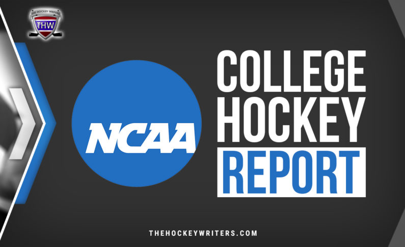College Hockey Report: Recapping the Weekend Action (Jan. 16-17)