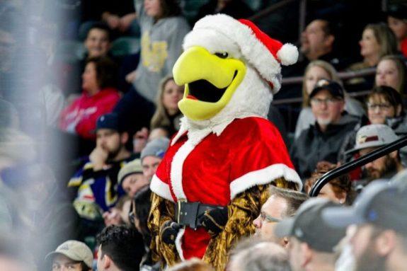 Colorado Eagles mascot