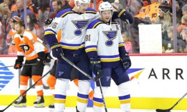 A Rocky First Half for the St. Louis Blues