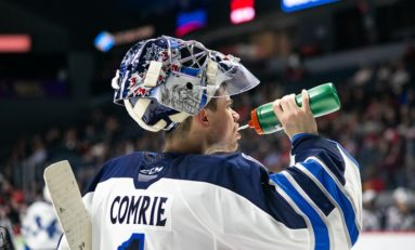 Eric Comrie Back in Winnipeg After Jets Claim Goaltender off Waivers