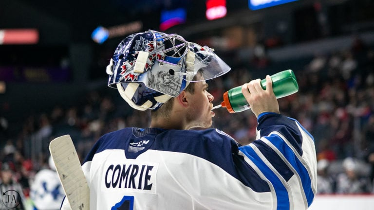 Eric Comrie, Manitoba Moose