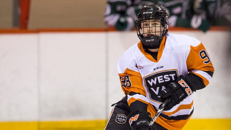 DO NOT USE Connor Bedard West Vancouver Warriors