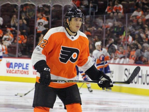 Connor Bunnaman Philadelphia Flyers