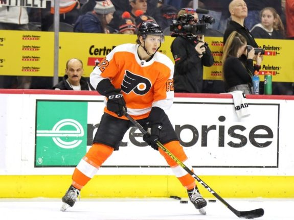 Connor Bunnaman Philadelphia Flyers