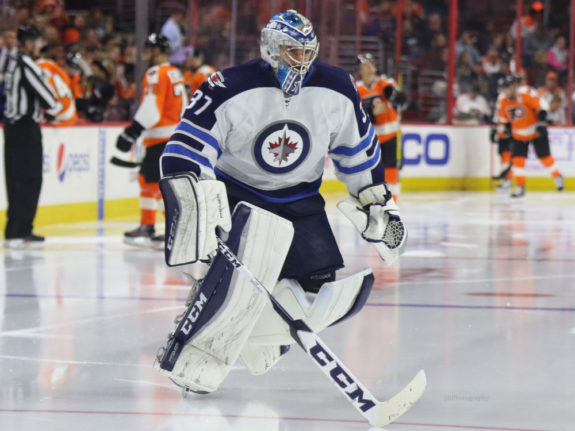 Connor Hellebuyck Winnipeg Jets
