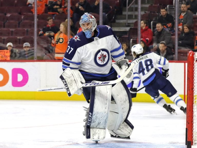 Connor Hellebuyck Winnipeg Jets