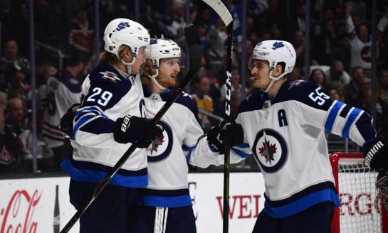 Jets' Top Line Beginning to Shine
