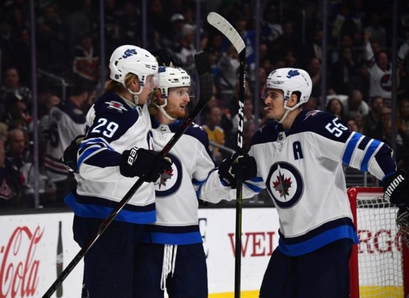 Winnipeg Jets Kyle Connor Patrik Laine Mark Scheifele