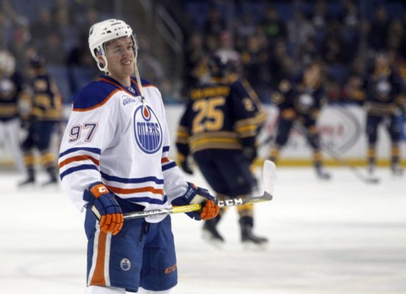 (Timothy T. Ludwig-USA TODAY Sports) Can Connor McDavid win the Calder Trophy as rookie of the year despite only suiting up for 55 per cent of Edmonton's games? I don't see why not, considering he was consistently the Oilers' best player whenever he was in the lineup.