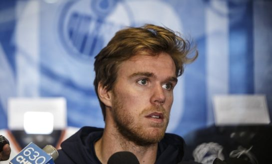 Connor McDavid Cleared to Practice as He Rehabs Knee