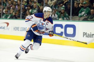 Edmonton Oilers forward Connor McDavid