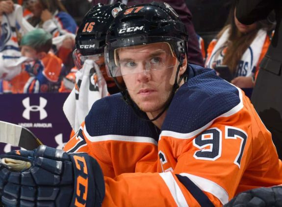 Connor McDavid of the Edmonton Oilers