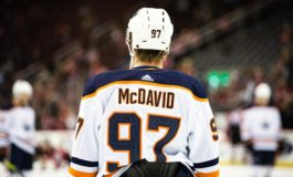 Oilers' McDavid Hopes Hockey Can Bring a Sense of Normalcy