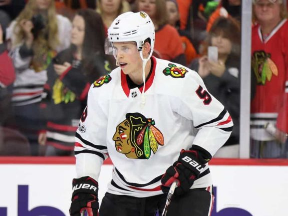 Connor Murphy Blackhawks