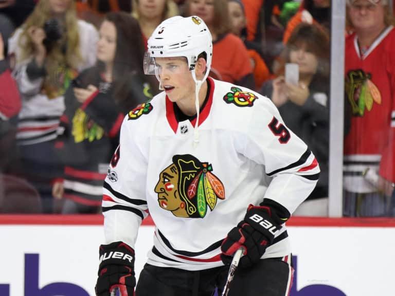 Connor Murphy Blackhawks