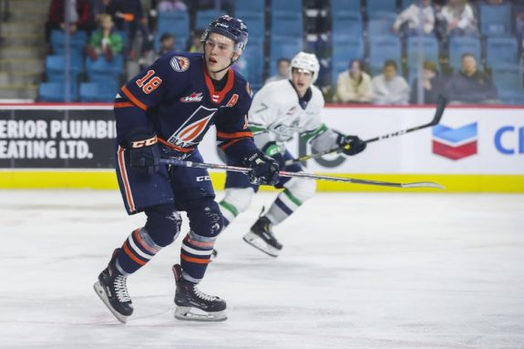 Connor Zary Kamloops Blazers