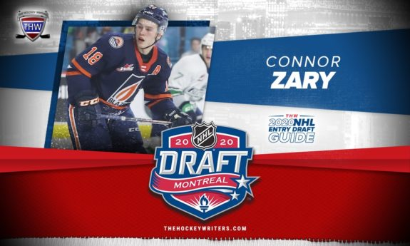 The Hockey Writers 2020 NHL Entry Draft Guide Connor Zary