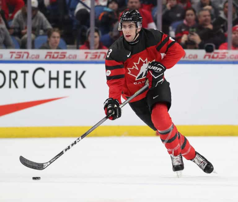 Conor Timmins Team Canada Getty