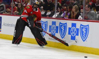 Sharks Beat Blackhawks for 4th Straight - Crawford Hurt