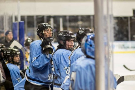 Corinne Buie and Kayla Parsons Buffalo Beauts