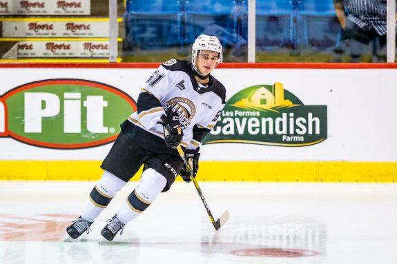 Lukas Cormier Charlottetown Islanders