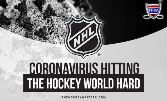 Coronavirus Hitting the Hockey World Hard